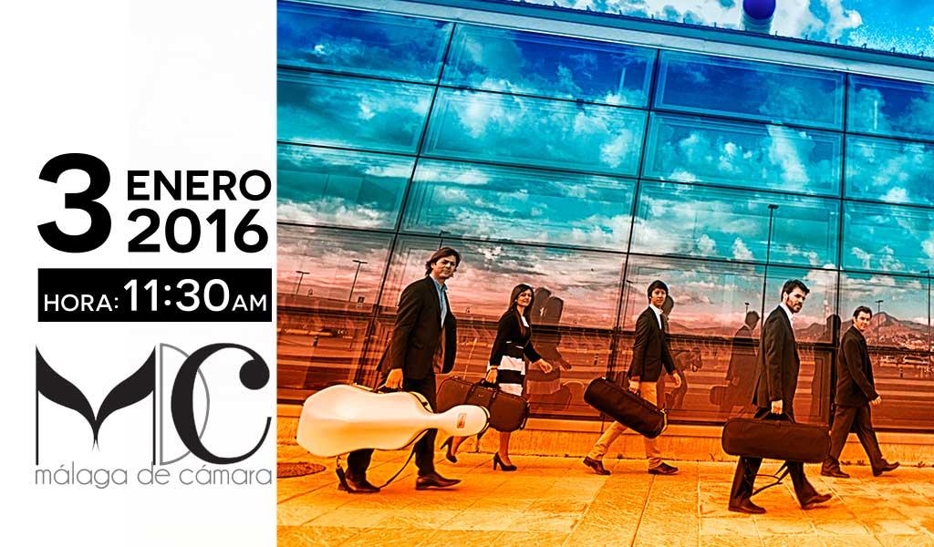 Baños Para Nuevo Ano:Concierto de Año Nuevo en El Balneario Málaga Baños del Carmen
